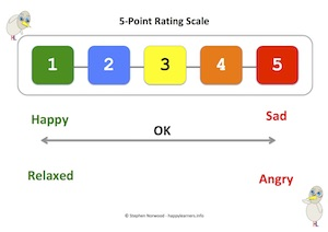 5 Point Rating Scale