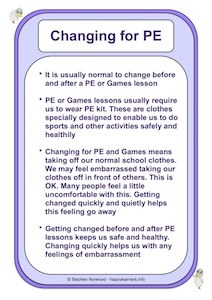 Changing for PE and Games