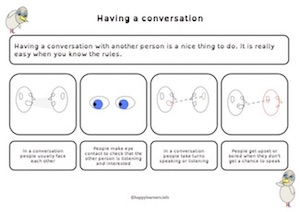 Having a conversation