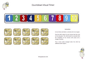 Countdown Visual Timer