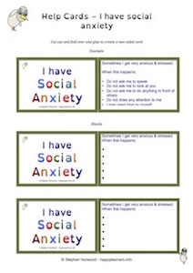 I have social anxiety