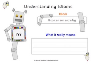 Idioms - Worksheet 3