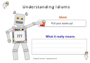 Idioms - Worksheet 5