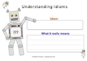 Idioms - Worksheet 8