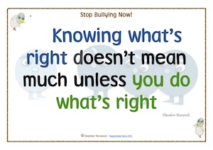Knowing what's right