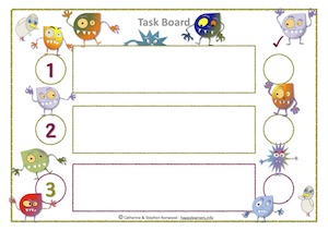 Monster Task Board