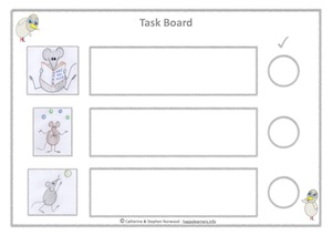 Mouse Task Board