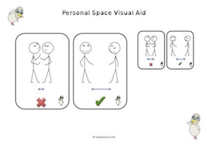 Personal Space Visual Aid
