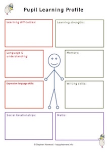 Pupil Learning Profile