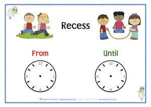 Recess From Until