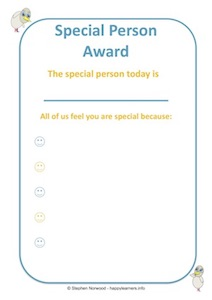 Special Person Award