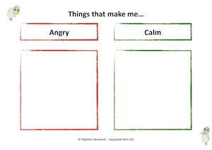 Angry Calm Lists