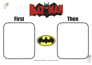 Batman First Then