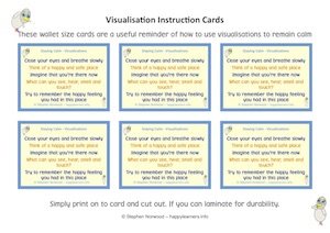 Visualisation Instruction Cards